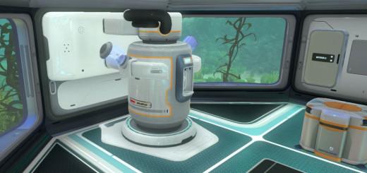 машина для фильтрации воды subnautica