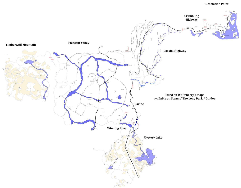 повреждения соседних карта лонг дарк загадочное озеро на русском языке для творческого, активного